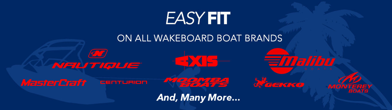 Easy to Install on all Wakeboard Brands