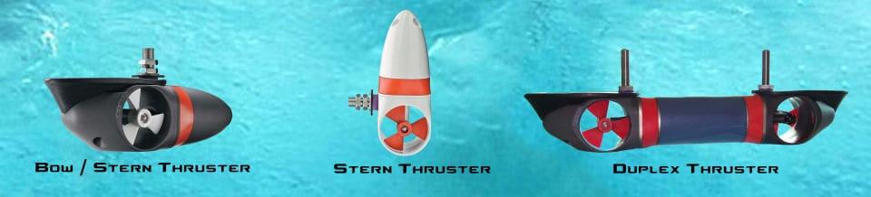 Yacht Thruster Models